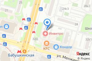 Компания «ММД» на карте