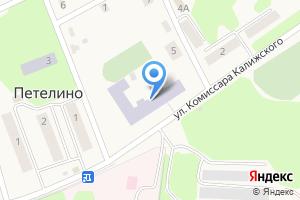 Компания «Петелинская средняя общеобразовательная школа» на карте