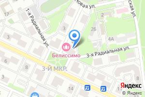 Компания «Белиссимо» на карте