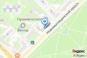 Компания «Центр информационных технологий Мытищинского муниципального района» на карте