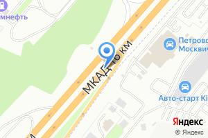 Компания «*автодил*» на карте