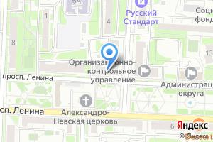 Компания «ДАНКО ПРАВОВОЙ ЦЕНТР НЕДВИЖИМОСТИ - недвижимость» на карте