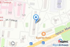 Компания «Магазин разливного пива на проспекте Мира» на карте