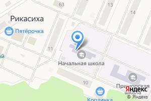 Компания «Приморская средняя общеобразовательная школа» на карте
