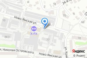 Компания «Центр подключения и обслуживания водителей» на карте