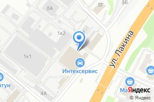 Компания «Вира» на карте