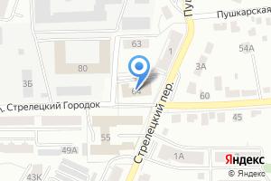 Компания «Отдел военного комиссариата Владимирской области по Ленинскому району» на карте