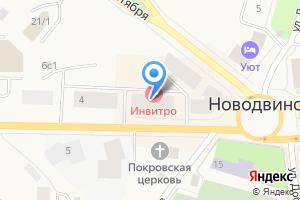Компания «НовоМебель» на карте