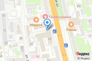 Компания «Косметичка Prof» на карте