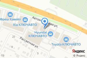 Компания «КЛЮЧАВТО» на карте