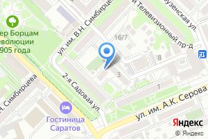 Компания «Элбис-Центр» на карте