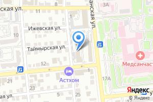 Компания «Отделочник» на карте
