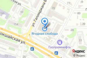 Компания «Банкомат АКБ Банк Город» на карте