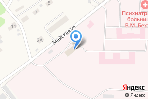 Компания «Кировская областная клиническая психиатрическая больница им. В.М. Бехтерева» на карте