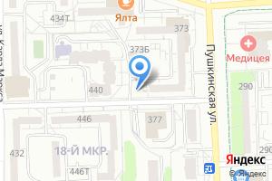 Компания «Магазин по продаже овощей и фруктов» на карте
