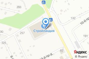 Компания «Стройландия» на карте