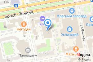 Компания «Попова 6» на карте