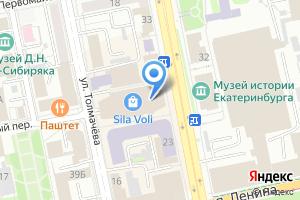Компания «СВФитнес» на карте