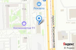 Компания «Прессор-ЕК» на карте