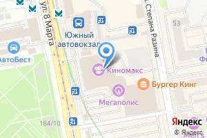 Компания «Orange Star» на карте