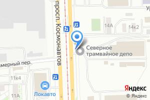 Компания «Киоск по продаже транспортных карт» на карте