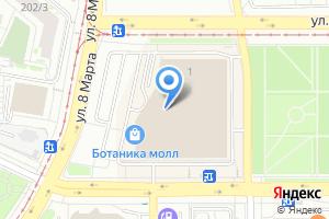 Компания «Банкомат МДМ Банк Екатеринбургский филиал» на карте