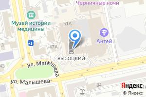Компания «Стройоснова» на карте