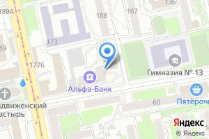 Компания «Аква плюс» на карте