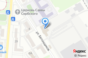 Компания «СД Техногресс» на карте