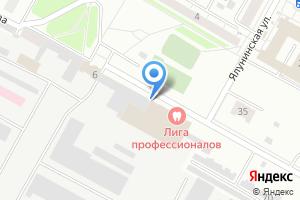 Компания «ТЕРРИТОРИЯ СКВОША» на карте