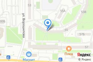 Компания «Яблоко» на карте