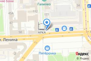 Компания «Sorrento» на карте