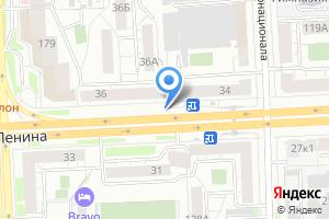 Компания «Роспечать киоск по продаже печатной продукции» на карте