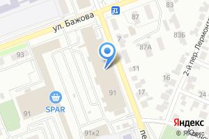 Компания «Банкомат Банк Снежинский» на карте