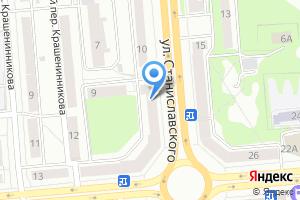 Компания «Банкомат Банк Левобережный» на карте