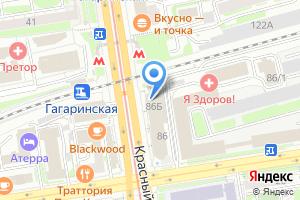 Компания «Новосибирское Квартирное Агентство» на карте