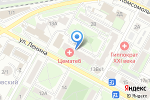Компания «ЦематеБ» на карте