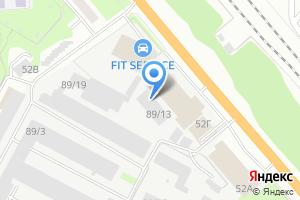 Компания «Тротуарные Формы Сибири» на карте