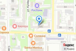 Компания «Здоровый позвоночник» на карте