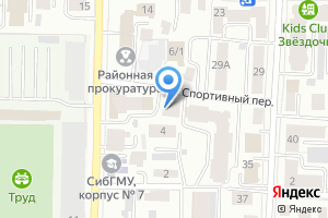Компания «Томсклифтремонт» на карте