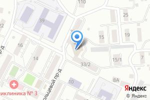 Компания «Специальный приемник по содержанию лиц, подвергнутых административному аресту» на карте