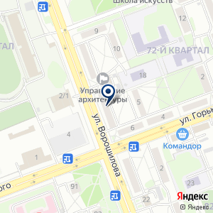 «ТИТАН» на карте