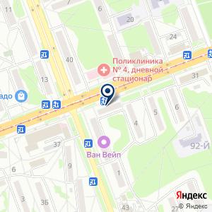 «Нитрон плюс» на карте