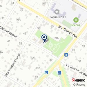Контрольная инспекция Администрация городского округа г Чита в   Контрольная инспекция на карте