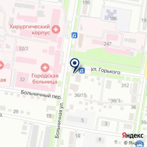 «ИНВИ» на карте