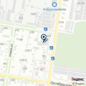 «Сандал» на карте