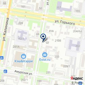 «Юниор Экстрим» на карте
