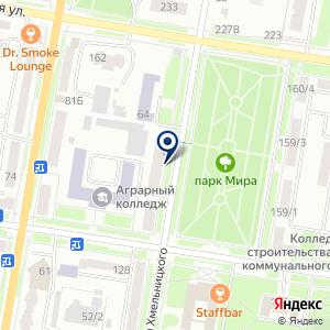 «Амурский колледж сервиса и торговли» на карте