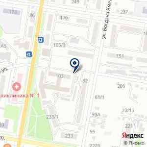 «Рубин» на карте