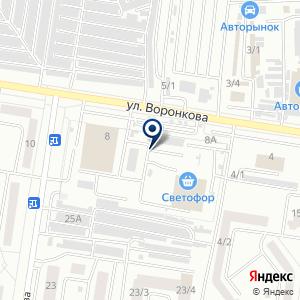 «Амур-Лада» на карте